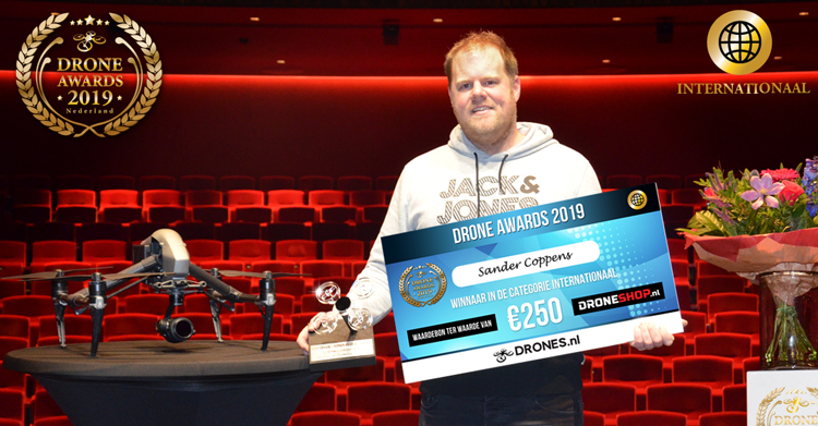 Winnaars Drone Awards 2019 bekend!